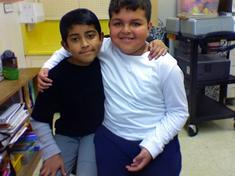 Congratulations to Efrain and Cesar for making it on to our February Math Stars  board!