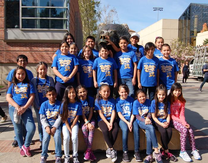 Student Council Visits UCLA